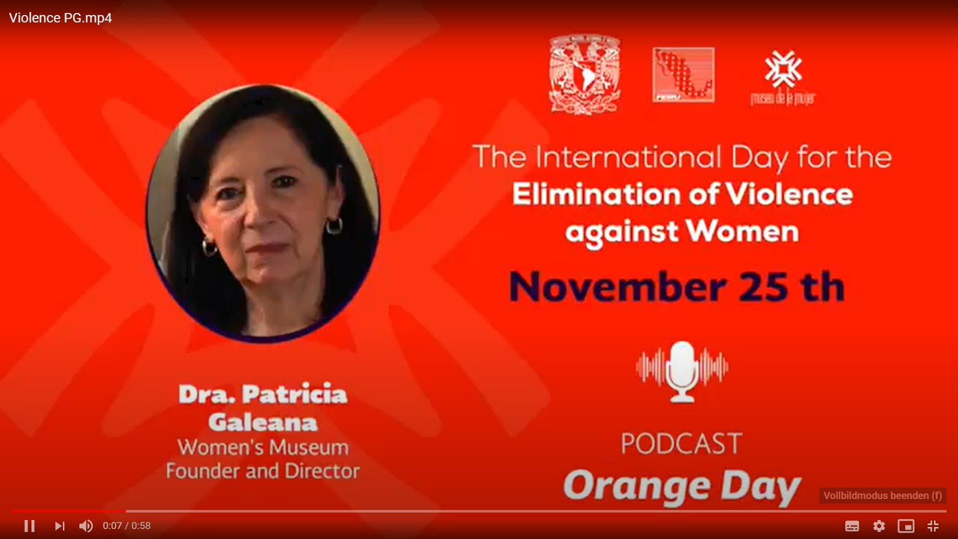 Patricia Galeana from Women's Museum Mexico City