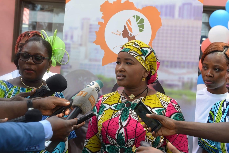 Ms. Sallama Sissoko, Founder of the Women's Museum of Ivory Coast - Musée de la Femme de Côte d'Ivoire