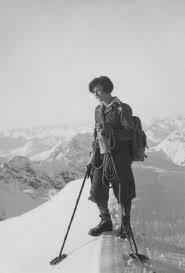Paola Wiesinger in den Dolomiten