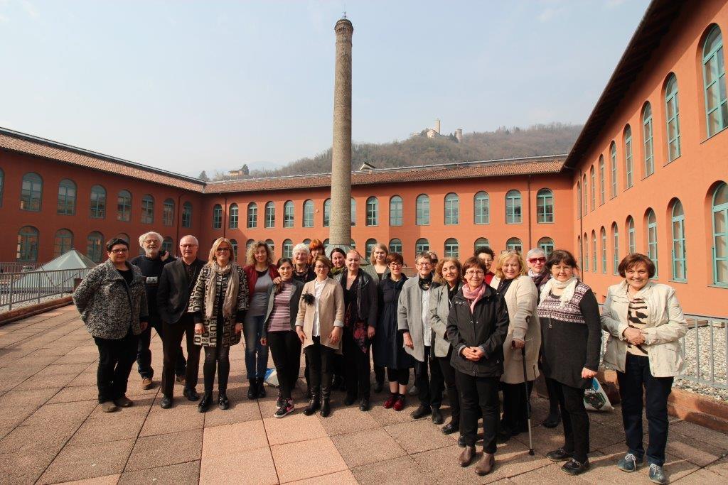 Participants at the Borgo conference