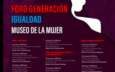 News from Women's Museum Mexico